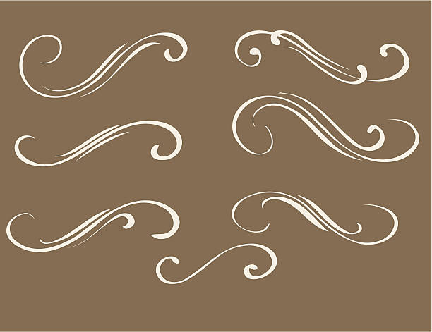 Decorative ornament #324, Vector vector art illustration