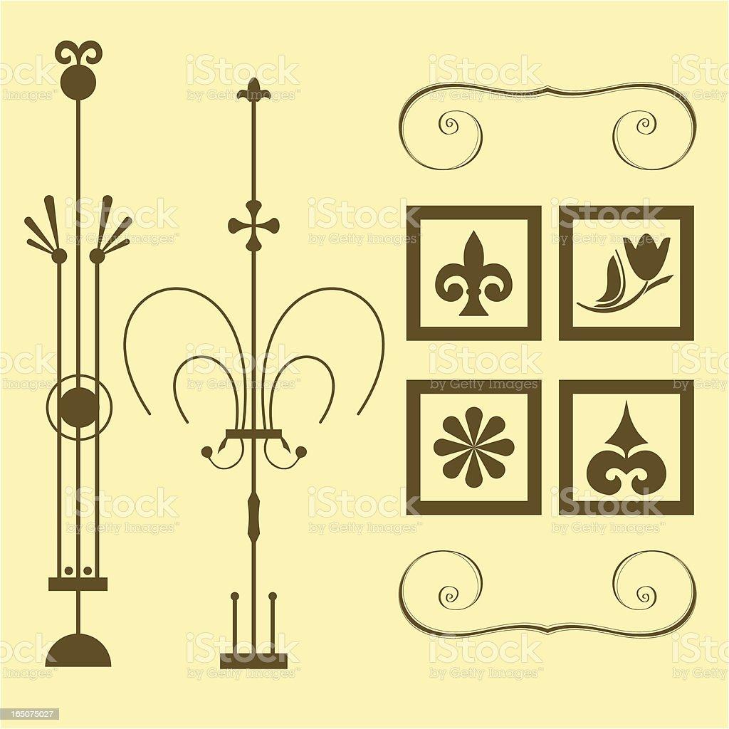 Decorative Ornaments royalty-free stock vector art