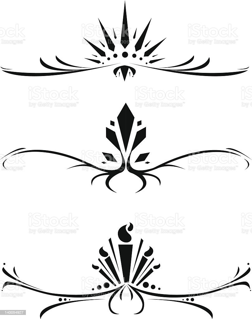 Decorative Ornaments [vector] royalty-free decorative ornaments vector stock vector art & more images of abstract