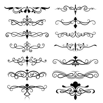 Decorative Ornate Elements
