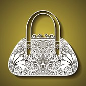 Decorative Ornate Women's Bag