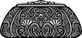 Decorative Ornate Women's Purse