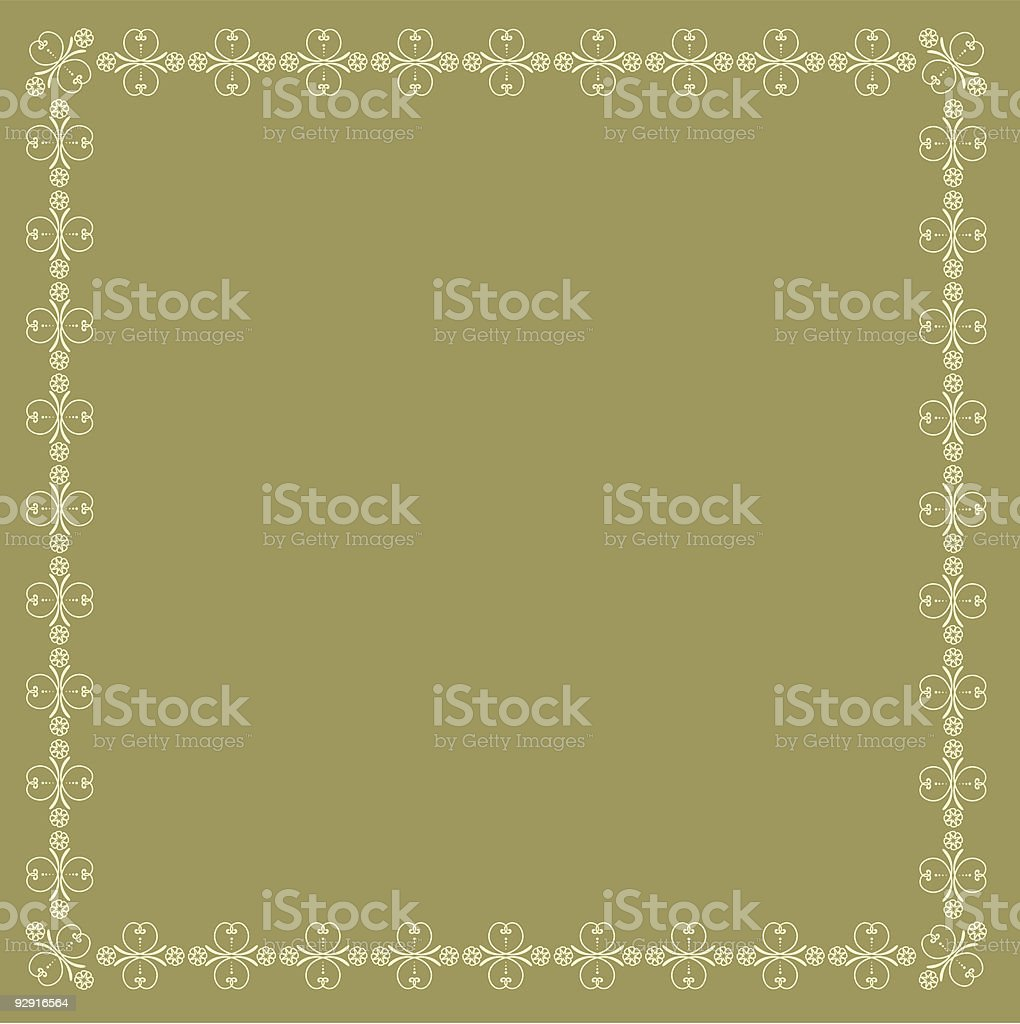 Decorative page ornament royalty-free stock vector art