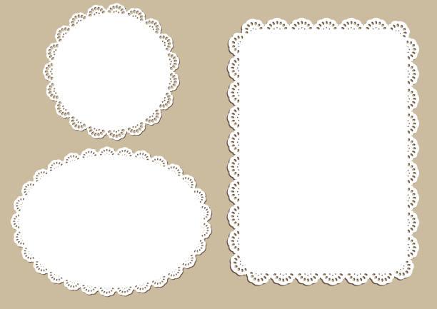 装飾的なプレース マット設計 - ランチョンマット点のイラスト素材/クリップアート素材/マンガ素材/アイコン素材