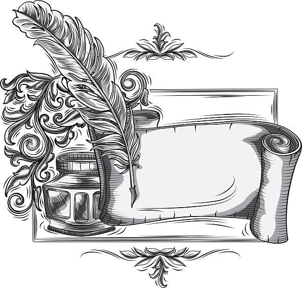 Royalty Free Page Corner Engraving Designs Clip Art ...