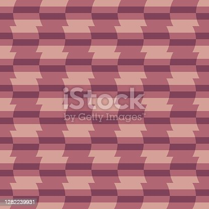 istock Decorative repeating pattern. Simple abstract accent for any surface. 1282239931