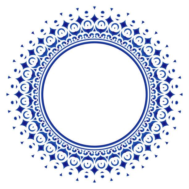 裝飾圓框曼陀羅 - 泰國 幅插畫檔、美工圖案、卡通及圖標