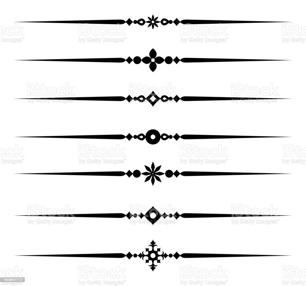 Dekorative Regeln Stock Vektor Art und mehr Bilder von Abstrakt ...