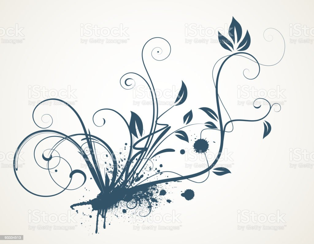 Decorative scroll design royalty-free decorative scroll design stock vector art & more images of abstract