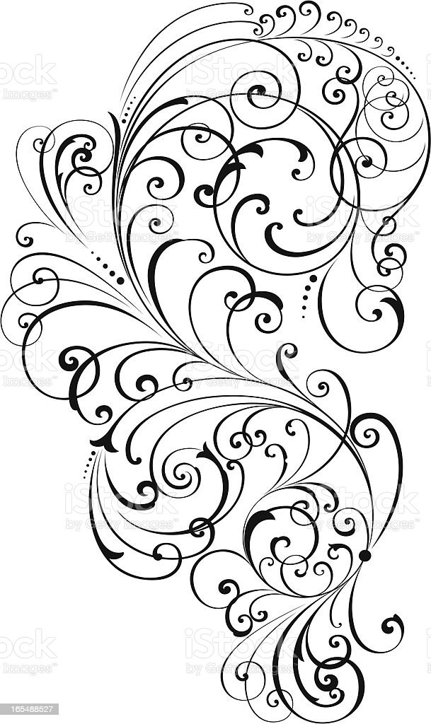 Decorative Scrolls Stock Illustration Download Image Now