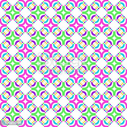 Decorative seamless pattern. Repeating background.