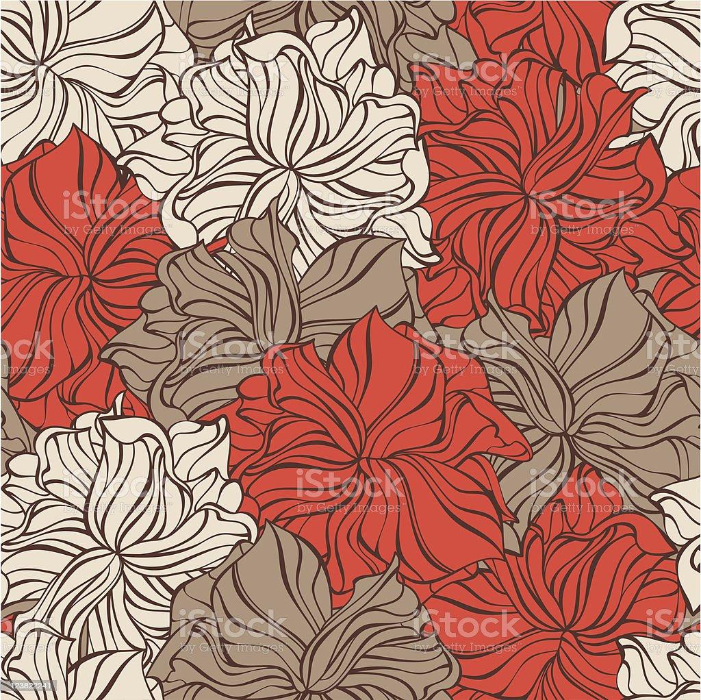decorative seamless pattern royalty-free stock vector art