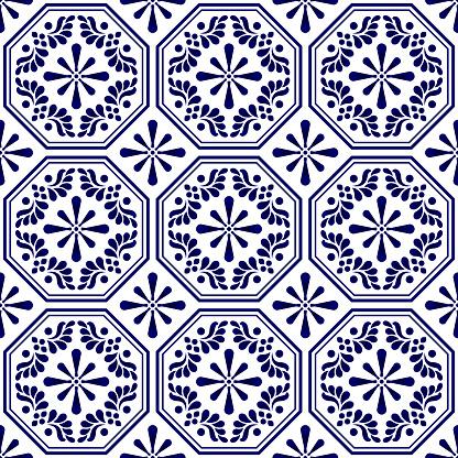 decorative seamless tile pattern
