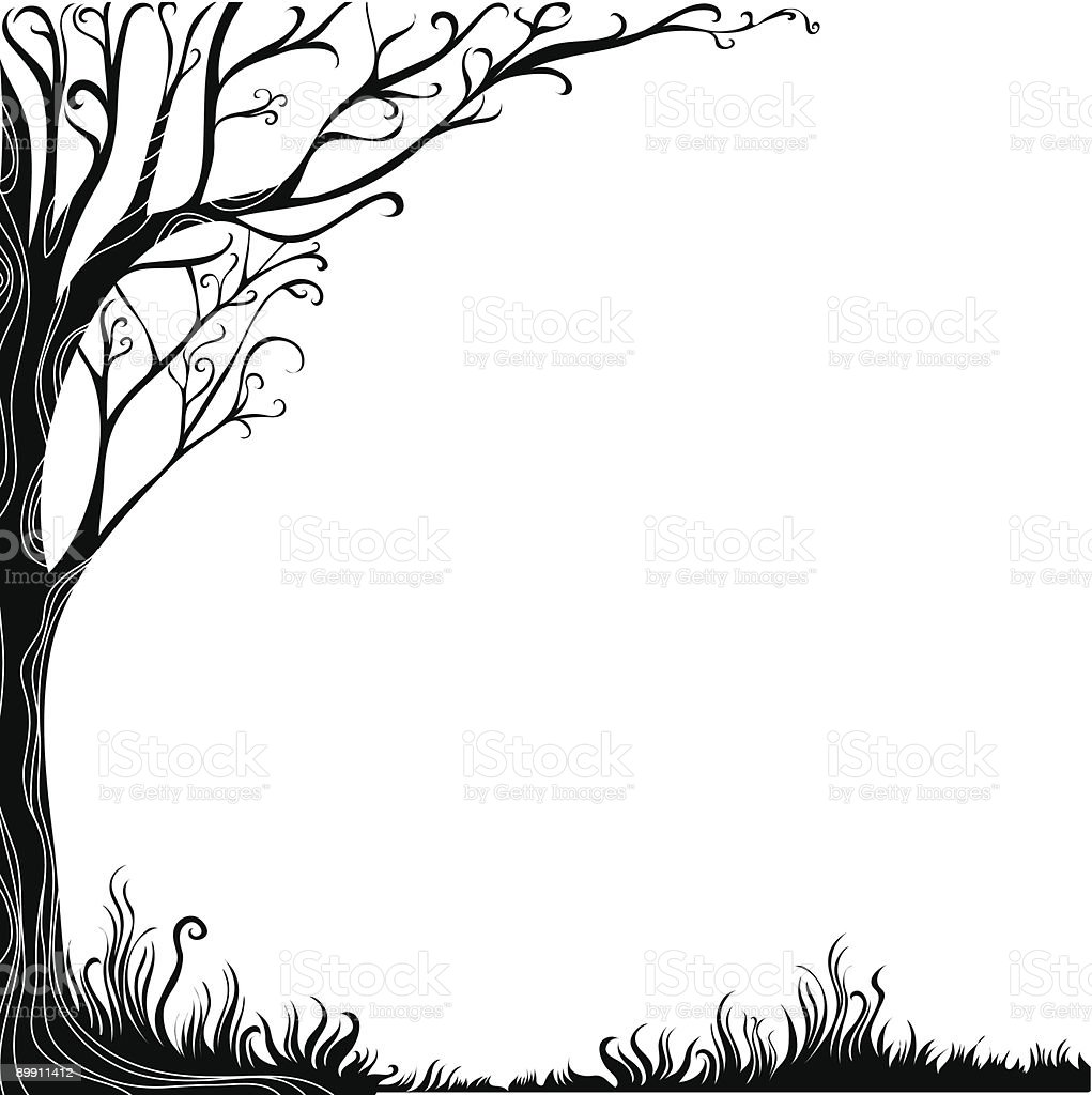 decorative tree background royalty-free decorative tree background stock vector art & more images of backgrounds