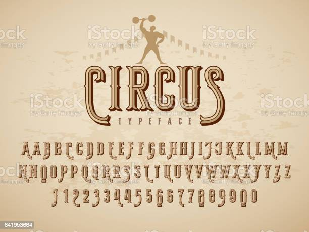 Decorative typeface on grunge texture background vector id641953664?b=1&k=6&m=641953664&s=612x612&h=jirtlqawqnhyufspo iwjoorvfw3i6io2cuwveb7xwm=