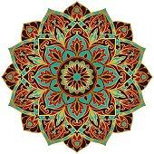 Decorative vector mandala.