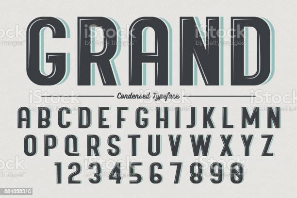 Decorative vector vintage retro typeface vector id884858310?b=1&k=6&m=884858310&s=612x612&h=8nntpegqzl7hdkmqjiitxxxbz2f0mhcwtxpyfn 6duq=