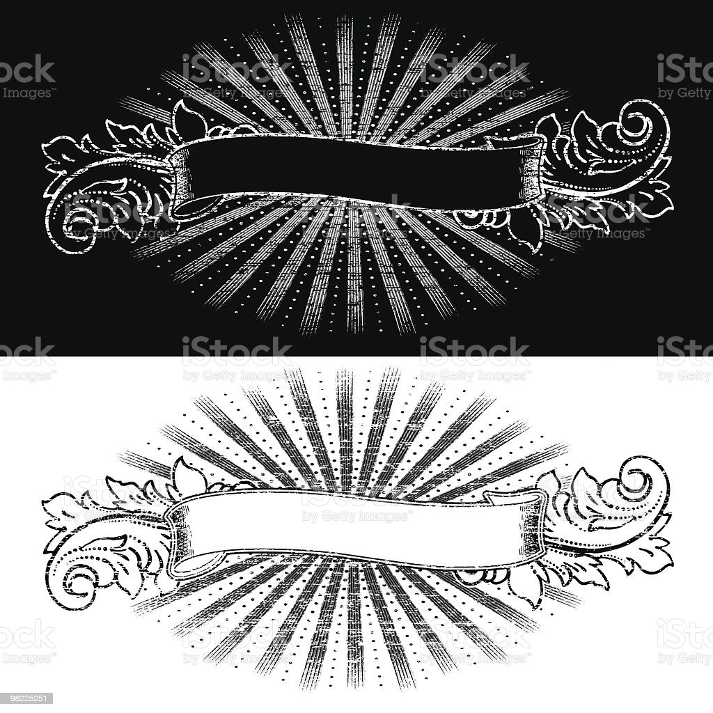 Decorative Vintage Banner royalty-free decorative vintage banner stock vector art & more images of antique