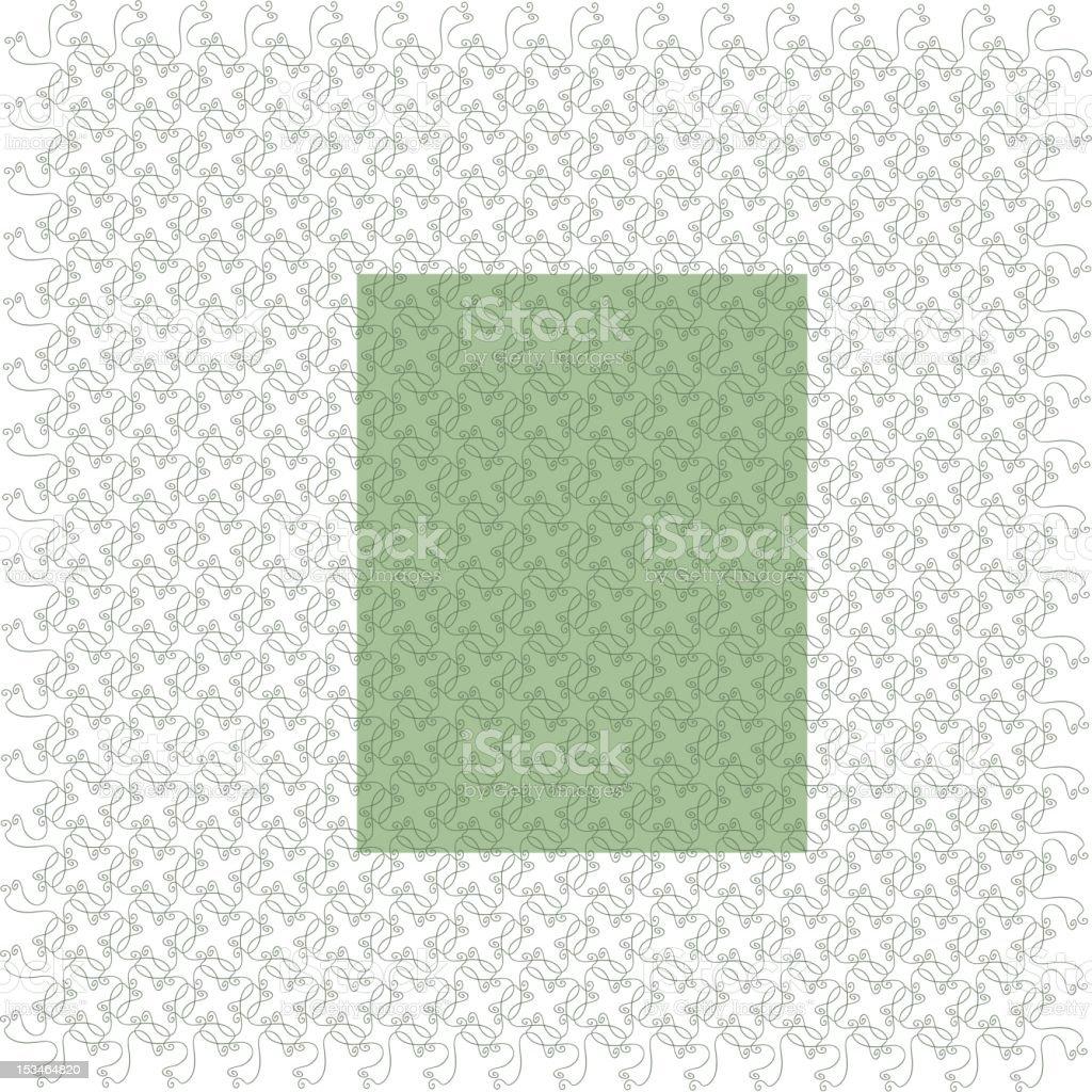 Decorative Wallpaper royalty-free stock vector art