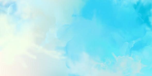 Decorative Watercolor Background — стоковая векторная графика и другие изображения на тему Абстрактный