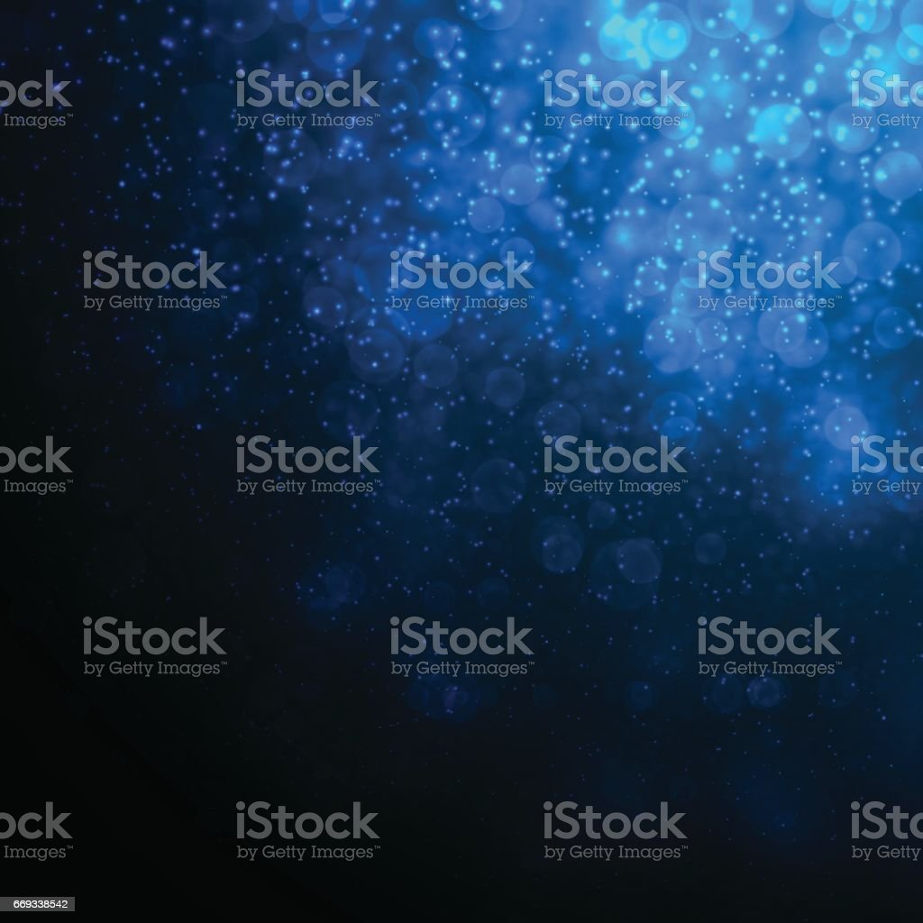 Deep Blue Abstract Underwater Background vector art illustration