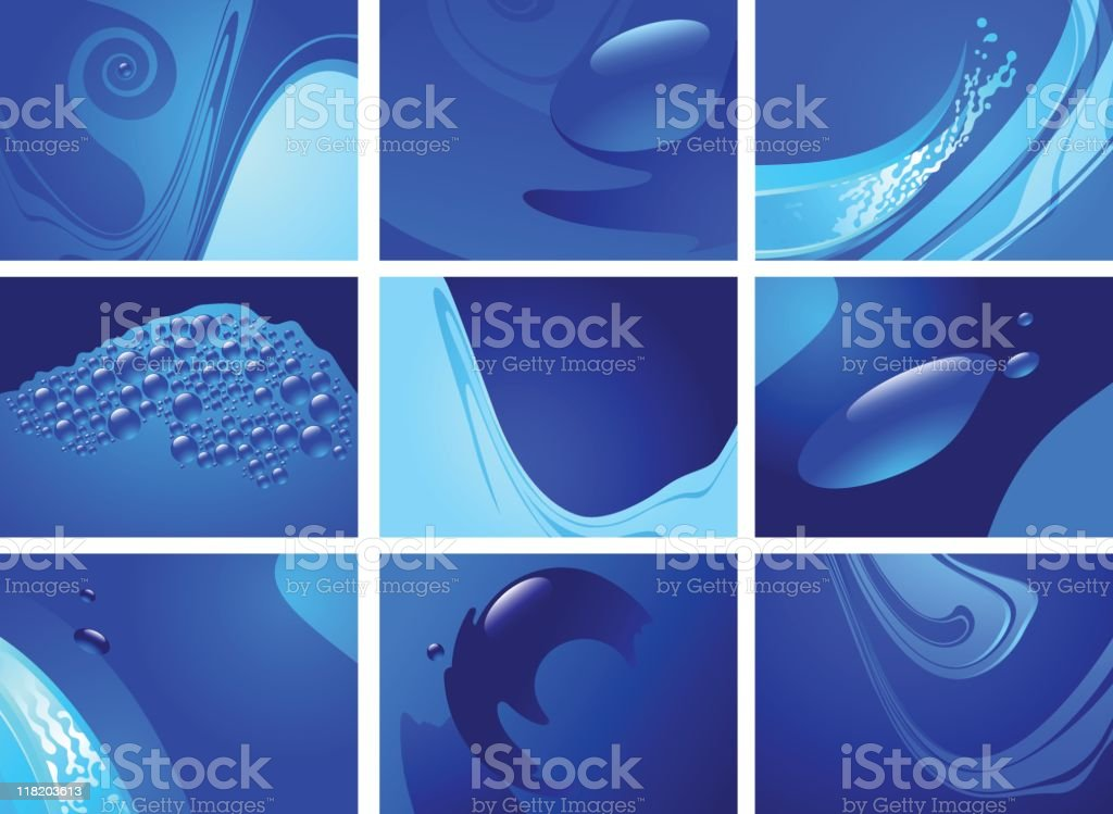 Deep Blue royalty-free deep blue stock vector art & more images of abstract
