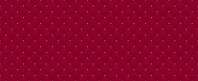 Deep burgundy seamless pattern. Can be used for premium royal party.