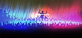 Deep party banner design