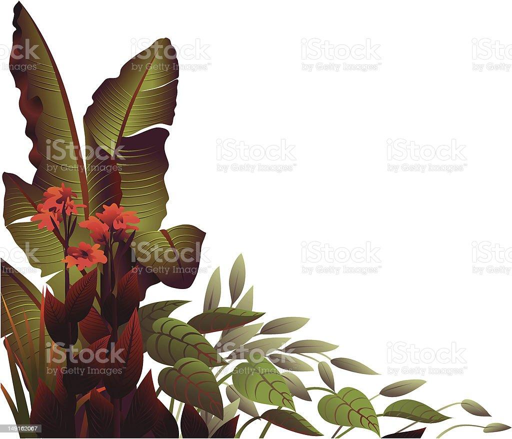 Deep Tropic royalty-free stock vector art