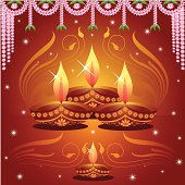 Self illustrated Deepavali Background...Please see some similar pictures from my portfolio: