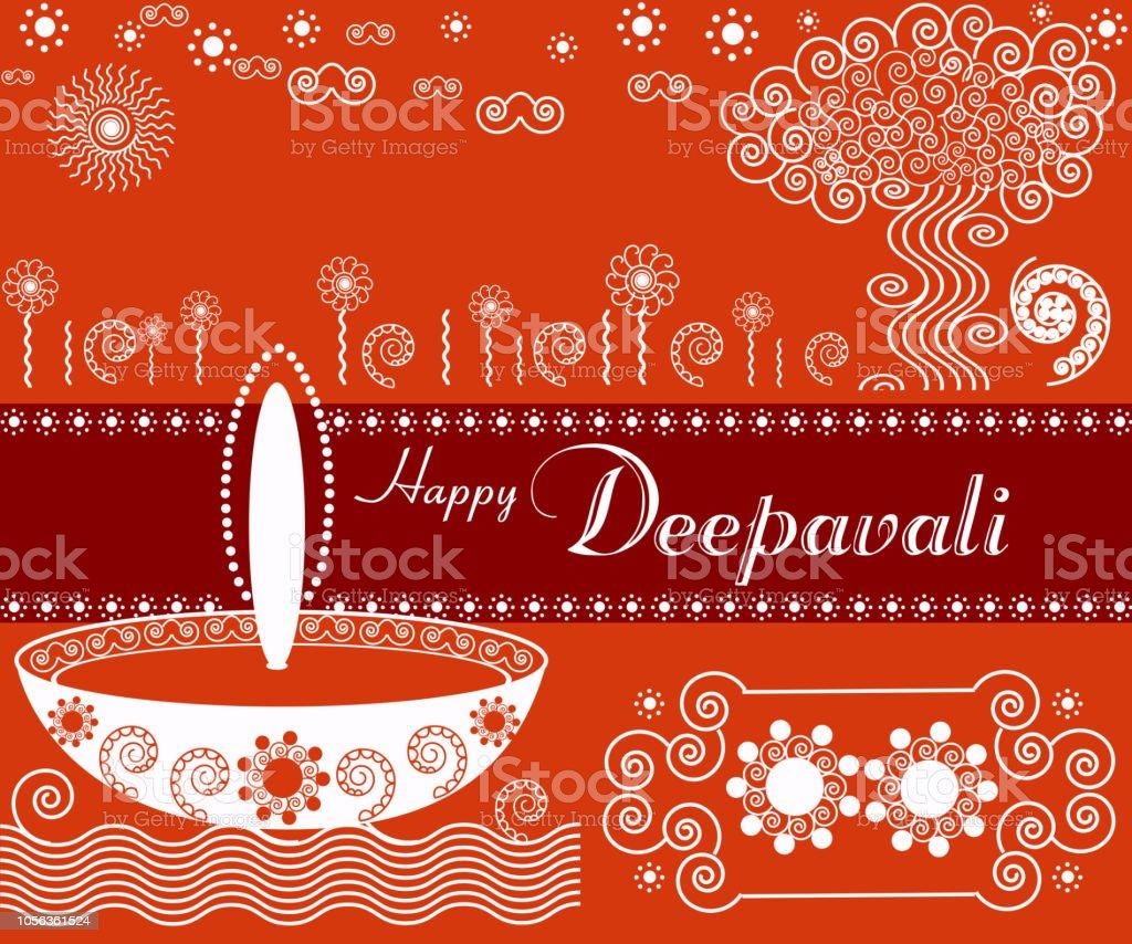 Deepavali Greetings Stock Vector Art More Images Of Aspirations
