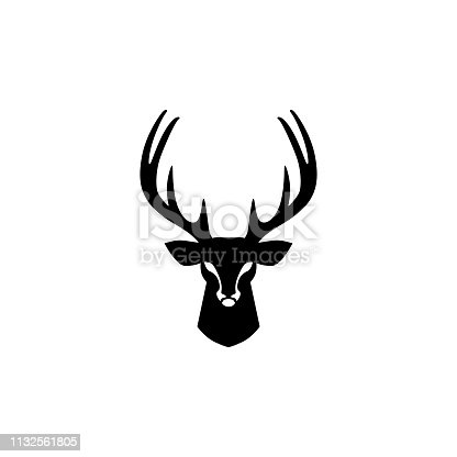 deer head vector design inspirations