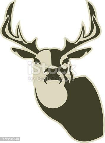 istock Deer Head 472298349