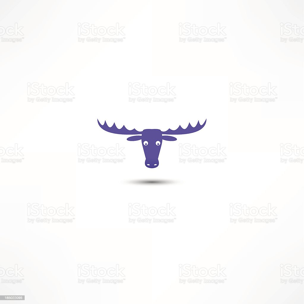 Deer Icon royalty-free deer icon stock vector art & more images of abstract