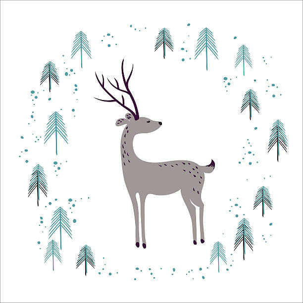 White Moose Clip Art, Vector Images & Illustrations - iStock