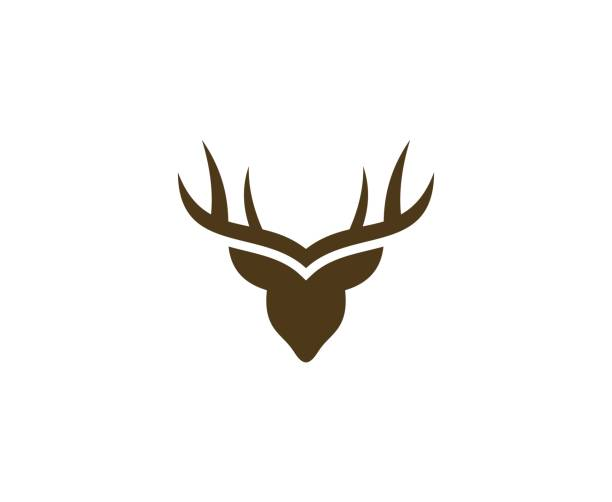 Deer logo This illustration/vector you can use for any purpose related to your business. antler stock illustrations