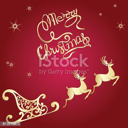 deer merry christmas poster template stock vector art more images