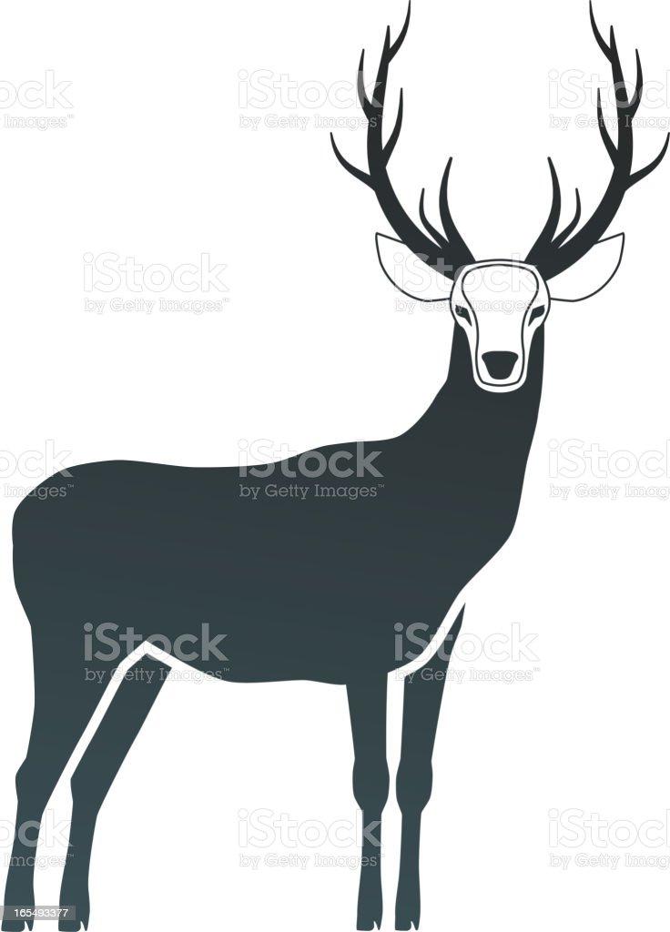 deer royalty-free deer stock vector art & more images of animal wildlife