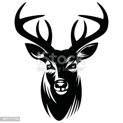 Deer vector Illustration - VECTOR