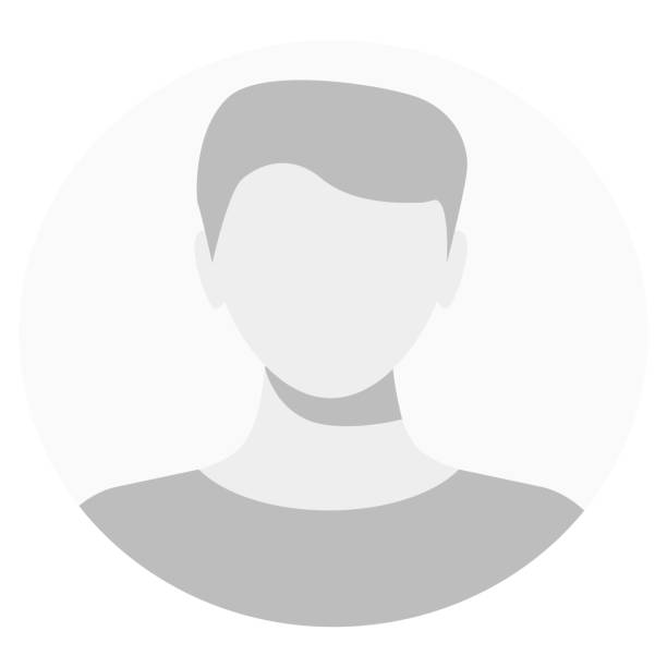 default avatar profile icon. grey photo placeholder. - head and shoulders stock illustrations, clip art, cartoons, & icons