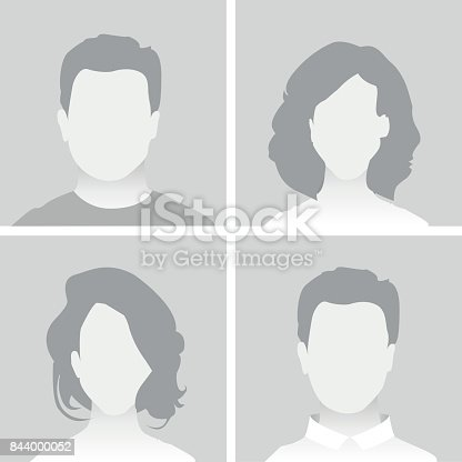 istock Default Placeholder Man and Woman 844000052