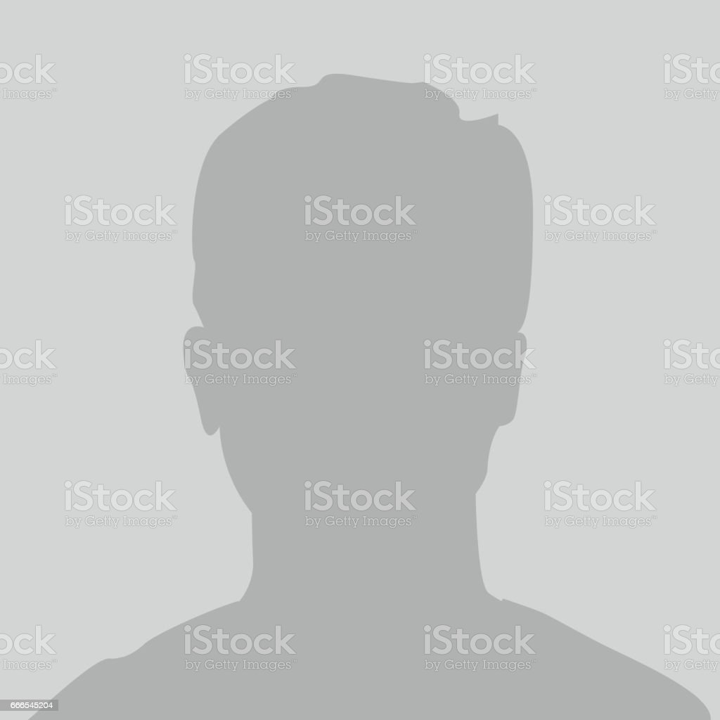 Default placeholder profile icon vector art illustration
