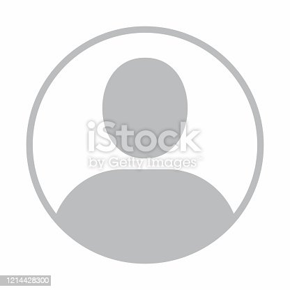 istock Default profile picture, avatar, photo placeholder. Vector illustration 1214428300