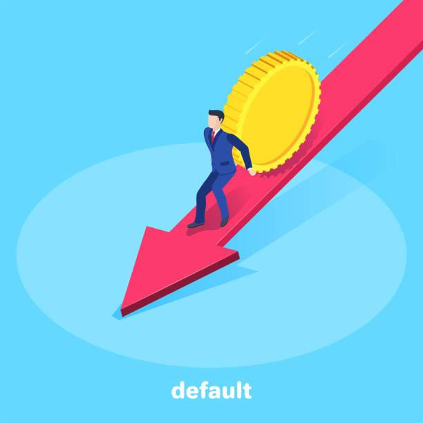default - credit card stock illustrations