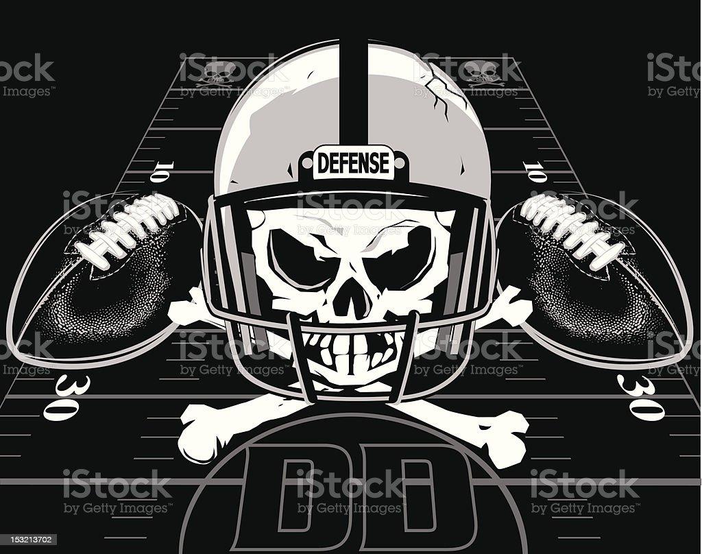 royalty free football helmet skull clip art vector images