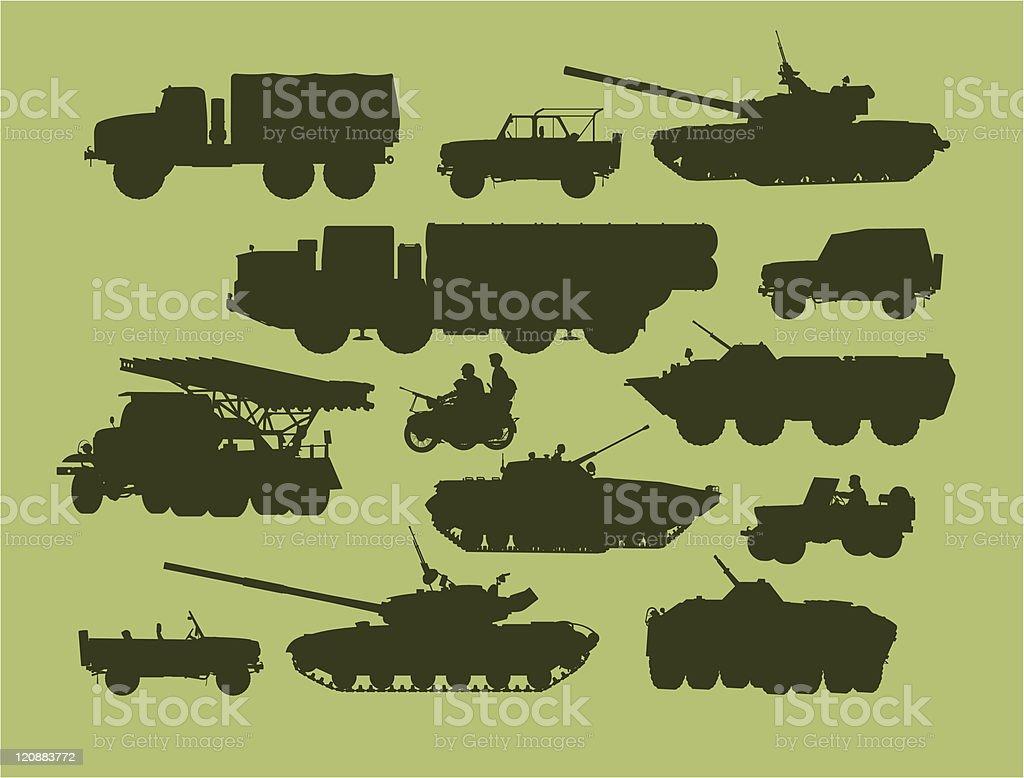 defense technology royalty-free stock vector art