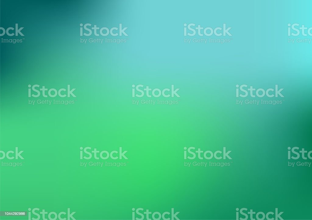 Defocused Abstract Blue and green Background - Royalty-free Abstrato arte vetorial