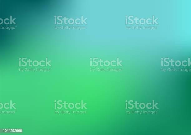 Defocused Abstract Blue And Green Background - Arte vetorial de stock e mais imagens de Abstrato