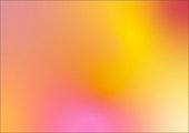 Defocused Blurred Motion Abstract Background Orange Yellow