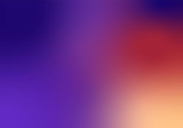 ilustrações de stock, clip art, desenhos animados e ícones de defocused blurred motion abstract background purple red - gradient